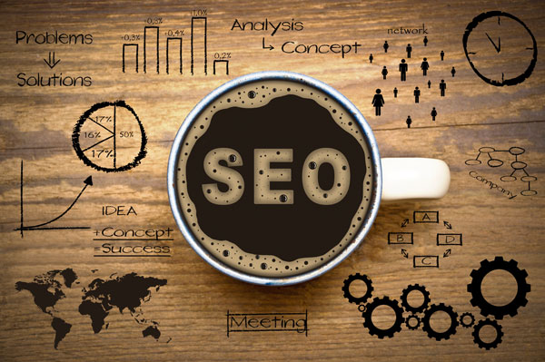 SEO in a coffee cup